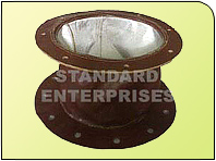 HIGH TEMPERATURE GLASS FABRIC EXPANSSION BELLOWS